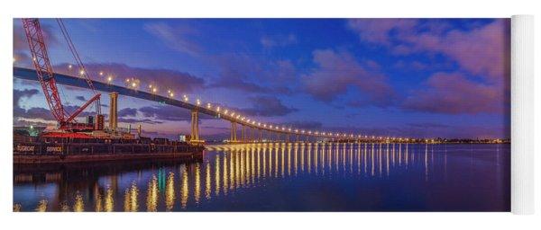 Coronado Bridge Sunrise - Panorama Yoga Mat