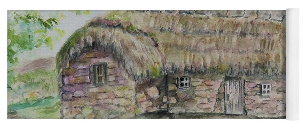 Cottage On Culloden Moor Yoga Mat