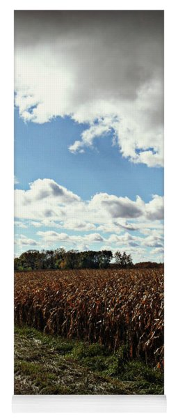 Country Autumn Curves 2 Yoga Mat