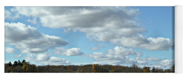 Country Autumn Curves 6 Yoga Mat