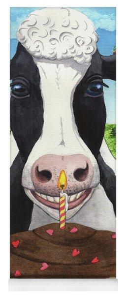 Cow's Pie Yoga Mat