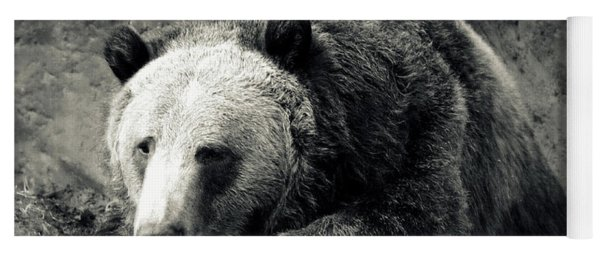 Cozy Yet Deadly - Grizzly Bear Yoga Mat