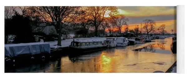 Cranfleet Canal Boats Yoga Mat
