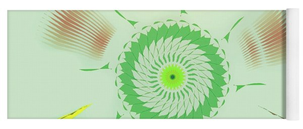 Crazy Spinning Flower Yoga Mat