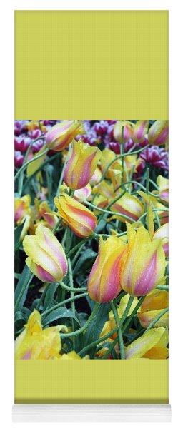 Crazy Tulips Yoga Mat