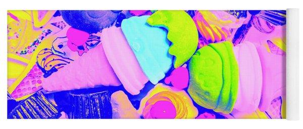 Creme De La Ice-cream Yoga Mat