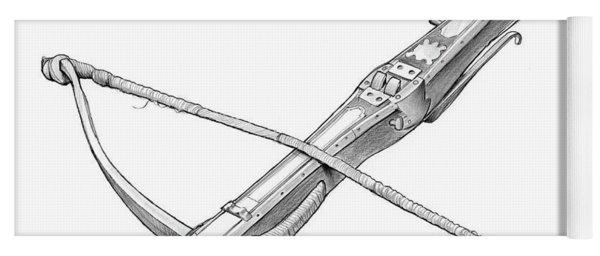Crossbow Weapon Yoga Mat