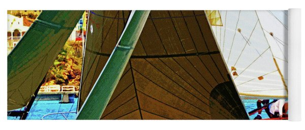 Crossing Sails Yoga Mat