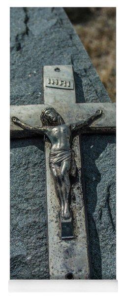 Crucifix Yoga Mat
