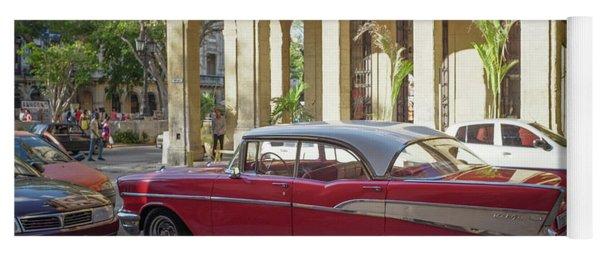 Cuban Chevy Bel Air Yoga Mat