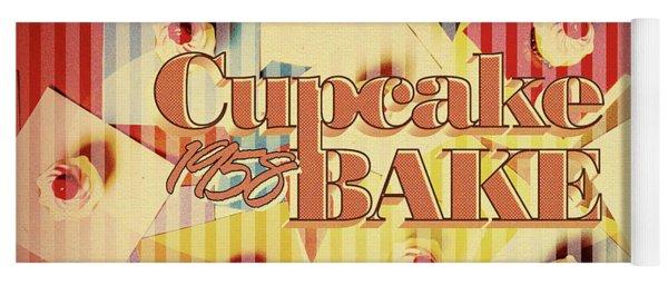 Cupcake Bake 1958 Yoga Mat