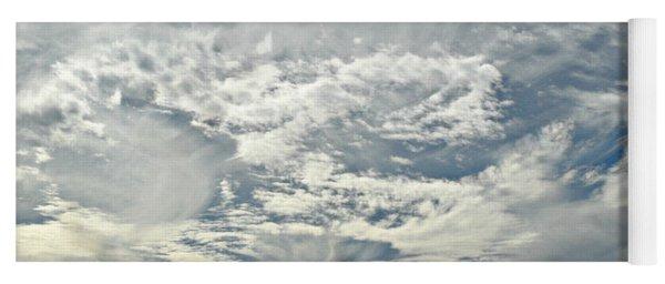 Curvy Clouds Yoga Mat
