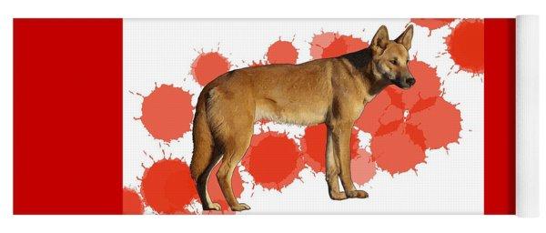 D Is For Dingo Yoga Mat