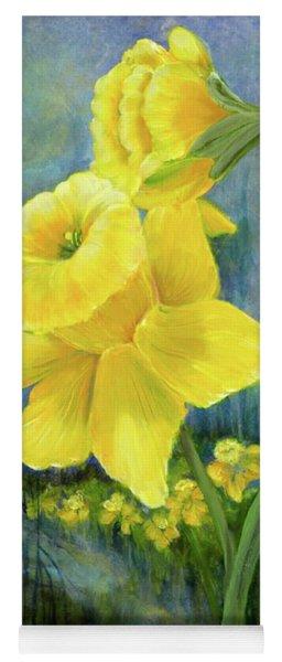 Daffodil Dream Yoga Mat