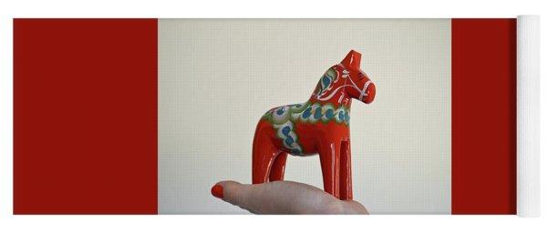 Dala Horse Yoga Mat