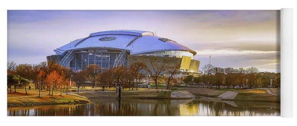 Dallas Cowboys Stadium Arlington Texas Yoga Mat