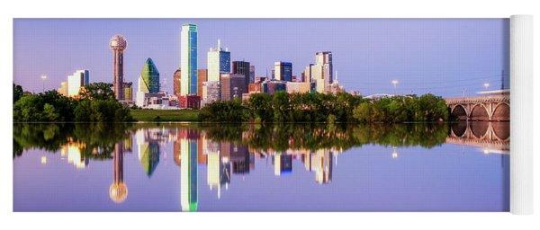 Dallas Texas Houston Street Bridge Yoga Mat