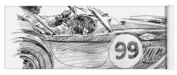 Dan Gurney Racing Ac Cobra 289 Yoga Mat
