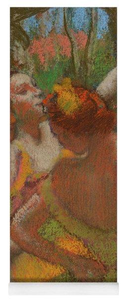 Dancers, 1896, Pastel Yoga Mat