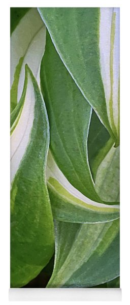 Dancing Hostas Yoga Mat