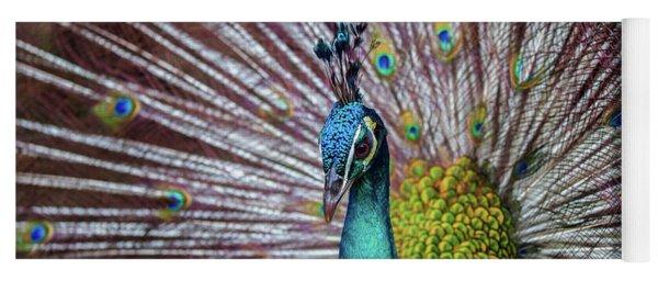 Dancing Indian Peacock  Yoga Mat