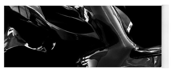 Dark Abstraction Yoga Mat