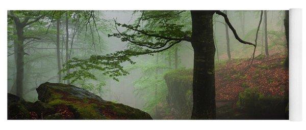 Dark Forest Yoga Mat