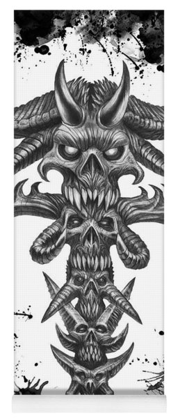 Dark Totem  Yoga Mat