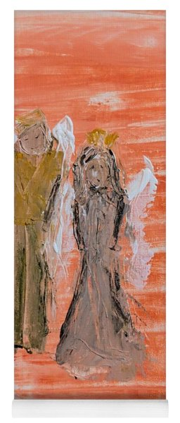 Dating Angels Yoga Mat