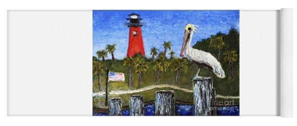 Aceo Dawn At Jupiter Inlet Lighthouse Florida 52a Yoga Mat