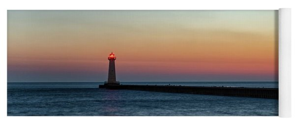 Dawn At Sodus Point Yoga Mat
