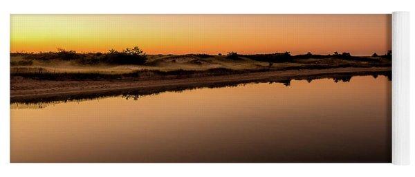 Dawn Light, Ogunquit River Yoga Mat
