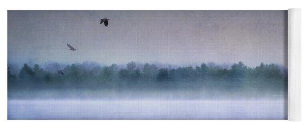 Dawn Of The Fog Yoga Mat