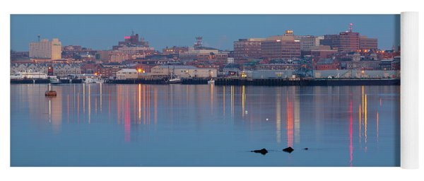 Dawn - Portland, Maine  Yoga Mat