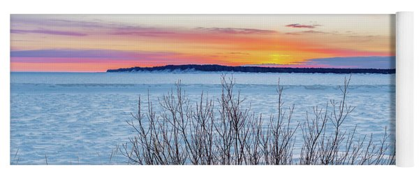 Daybreak Over East Bay Yoga Mat