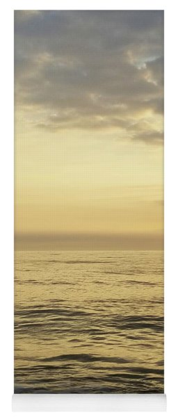 Yoga Mat featuring the photograph Daybreak Over The Ocean 2 by Robert Banach