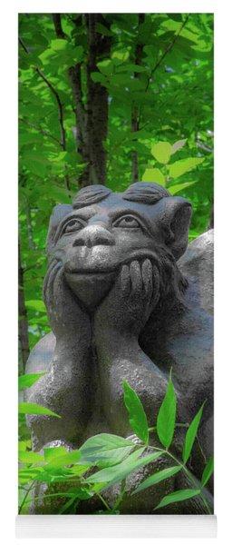 Daydreaming Gargoyle Yoga Mat
