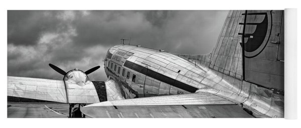 Dc-3 Under A Stormy Sky Yoga Mat
