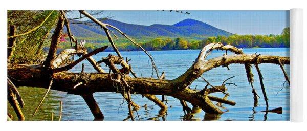 Dead Tree Geese, Smith Mountain Lake Yoga Mat