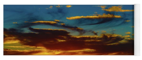 December 17 Sunset Yoga Mat