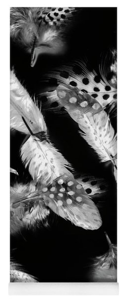 Decorated In Black And White Yoga Mat