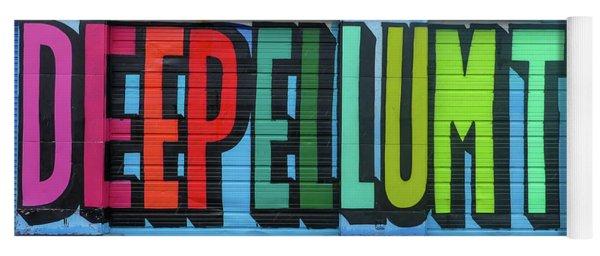 Deep Ellum Wall Art Yoga Mat