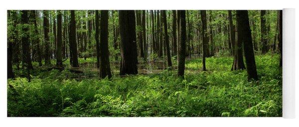 Deep Forest Yoga Mat