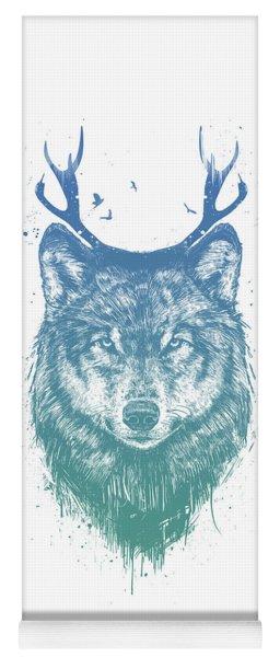Deer Wolf Yoga Mat