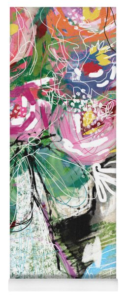 Delightful Bouquet 3- Art By Linda Woods Yoga Mat