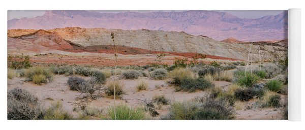 Desert On Fire No.3 Yoga Mat