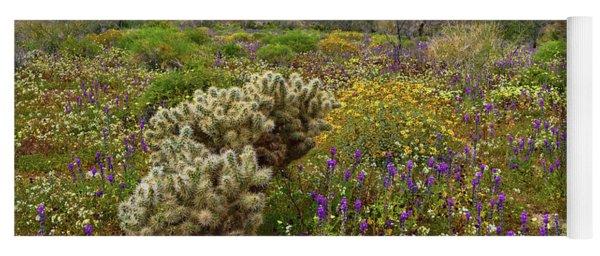 Desert Spring Yoga Mat
