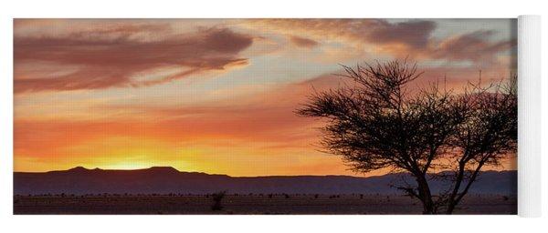 Desert Sunset II Yoga Mat