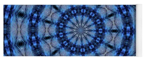 Blue Jay Mandala Yoga Mat