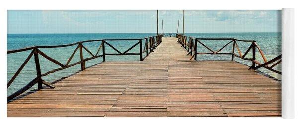 Dock To Infinity Yoga Mat